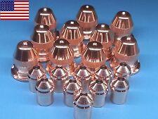 20pc x 21595 Electrode + 21596 Nozzle 50A - ESAB® PT-25 Plasma Torch *US SHIP*
