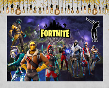 Fortnite Birthday Party Supplies Set Video Game Theme Decoration for Adults,Teen