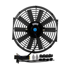 Universal Car 12 inch 12V Electric plastic radiator cooling fan Black color