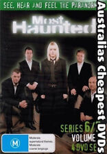 Most Haunted Series 6/7 Volume 2 DVD NEW, FREE POST WITHIN AUSTRALIA REGION ALL
