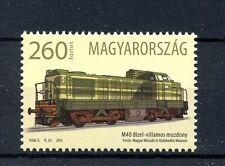 Hungary 2016 MNH First Locomotive M40 1v Set Trains Railways Locomotives Stamps