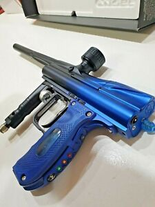 Angel A4 Black Blue Fade Dust Paintball Marker WDP BRAND NEW!!