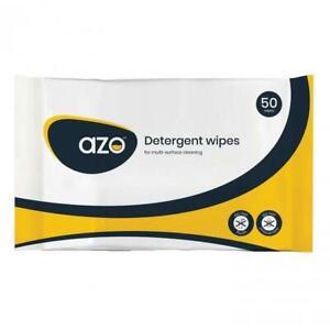 Azodet Detergent Wipes, Pack of 50