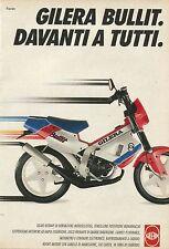 X1335 Gilera Bullit davanti a tutti - Pubblicità del 1990 - Vintage advertising