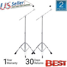 2X Straight Cymbal Boom Stand Drum Hardware Percussion Mount Holder Set US STOCK