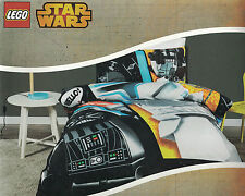 DISNEY LEGO STAR WARS DARTH VADER & CLONE TROOPER QUILT COVER SET DOUBLE NEW