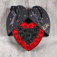 XXL Rosenbox 32cm Rosen Box Flowerbox Blumenbox MIT GRAVUR Valentinstag Geschenk