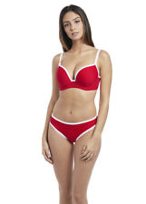NEW Freya Paint the Town Red Deco Swim Underwired Moulded Bikini Top ONLY