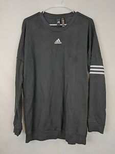 Adidas Long Sleeve Sweatshirt, Black, Women's Medium