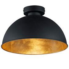 Deckenlampe Deckenleuchte SCHWARZ GOLD Reality Jimmy R60121002 - LED möglich
