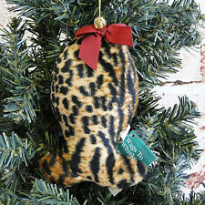 Vintage Retired Russ Berrie/Tiger Fish/Jingle Bell/Christmas Ornament/Pet Gift