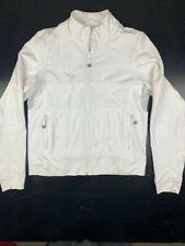 LULULEMON ATHLETICA Mens Full Zip Track Jacket Size S White