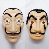 Salvador Dali Money Heist The House of Paper La Casa De Papel Party Costume Mask