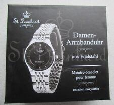 Damenuhr von St. Leonhard / Neu unbenutzt und originalverpackt