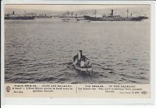 AK 1WW, Balkan, L´Etat Major quitte le bord avec le general Sarrail, Guerre 1915