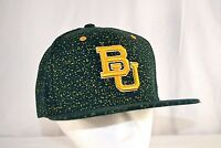 Baylor University Bears Green/Yellow Baseball Hat Cap Snapback