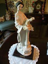 Guiseppe Armani 1987 Oriental Lady with Column Figurine 403-S