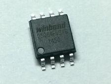 Winbond 25Q64FVSIG serial flash memory. Flash chip. Programmed. Flashed.