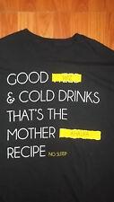 2XL Rapper WIZ KHALIFA Good Weed Mother Fn Recipe T-Shirt HIP HOP RAP XXL