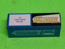 Hikari Halogen BA15D Base JD 130V 100W Clear Stage & Studio Light Bulb