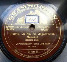 1499/ Zicke-Zacke-Hallo,ich bin ein Jägersmann-Herms Niel-Marsch-78rpm Schellack