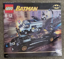 Lego Batman 7781 The Batmobile Two Face's Escape Manual Only