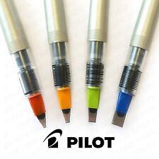 Piloto paralelo Pluma de caligrafía Con Paralela Placa Nuevo En Caja - 4 Nib Tamaños Disponibles