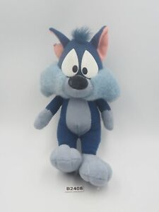 """Tiny Toon B2408 Furrball Cat Warner Bros Jun Planning Plush 7"""" Stuffed Toy Doll"""