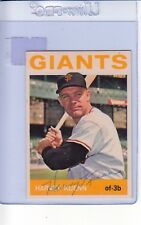 1964 TOPPS AUTOGRAPHED #242 HARVEY KUENN GIANTS FAIR #002418