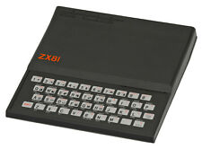 SINCLAIR ZX81, 16K RAM, IND/EU Charger(ADAPTER NOT INCLUDED), Mic+Ear Inputs(TV)