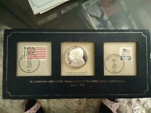 1971 Commemoration Of The Inauguration Of The US Postal Service
