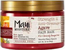 Maui Moisture Strength - Anti-Breakage + Agave Hair Mask 12 oz