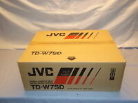 JVC TD-W7SD Stereo Double Cassette Tape Deck Player / Recorder NEW In Box