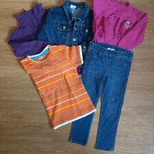 Bekleidungspaket Kinder Mädchen 98 104 Jeans Shirts (Paket 18 - 1908) 04/2020