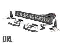 "Rough Country 20"" LED Bumper Kit (fits) 16-20 Nissan Titan XD | DRL Dual Row |BS"