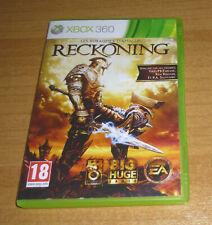Jeu de role XBOX 360 - Les royaumes d'amalur RECKONING (Complet)