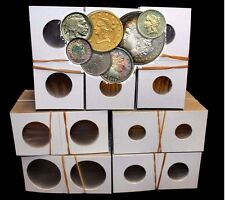 700 Assorted 2x2 Coin Holder Flip Cardboard GUARDHOUSE U.S. Mint Variety Storage