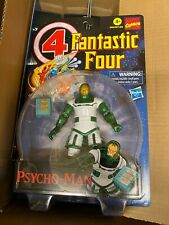 "Hasbro Retro Marvel Legends Fantastic Four Psycho-Man 6"" Figure In Hand"