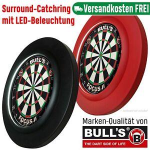 Surround Dart Lightning Bulls Dartboard schwarz rot