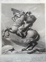 GALERIES HISTORIQUES DE VERSAILLES par Gavard 1838 Exceptionnel NAPOLÉON RÉVOLUT