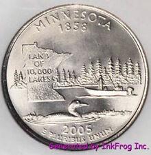 2000-2005 P /& D State Quarters in Original US Mint Cellophane 60 BU Coins