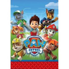 Paw Patrol Party Loot Bags Pack of 8 Boys Girls Childrens Birthday Party