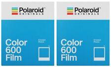 2x Polaroid Color 600 Sofortbildfilm / Farbfilm (2x 8 = 16 Aufnahmen) Sofortbild