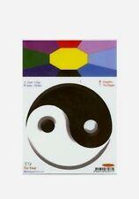 Yin Yang Static Cling Window Sticker