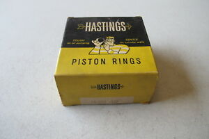 Hastings Piston Ring set fit Jeep Willys 41-73 (2C828STD)