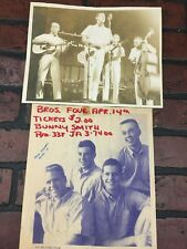 Vintage Concert Poster and Photo 1960's The Brothers Four