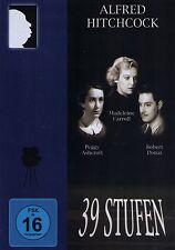 DVD NEU/OVP - 39 Stufen (Alfred Hitchcock) - Madeleine Carroll & Robert Donat