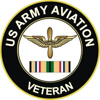 """Army Aviation Corps Gulf War / Desert Storm Veteran 5.5"""" Decal / Sticker"""