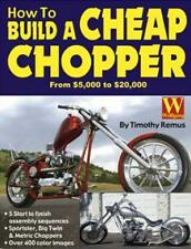MOTORCYCLE RESTORATION WORKSHOP REPAIR MANUAL BOOK HOW TO BUILD A CHEAP CHOPPER