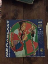 """Bomb The Bass Megablast / Don't Make Me ... UK 12""""  record (Maxi)"""